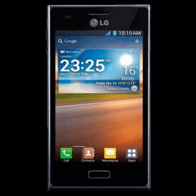 """Smartphone LG E612F Optimus L5 Preto - 3G - Wi-Fi - 4"""" - 5MP - Android 4.0 - Desbloqueado"""
