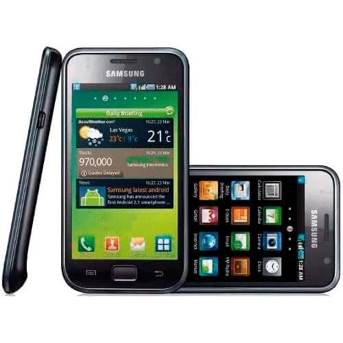 "Smartphone Samsung Galaxy S GT-I9000B - 8GB - 4"" - 5MP - 3G - TV Digital - Android 2.1 - Preto"