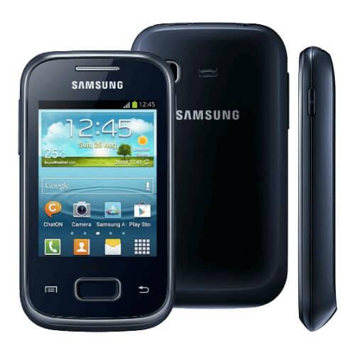 Smartphone Samsung Galaxy Pocket Plus Preto GT-S5301 - Wi-Fi - 3G - MP3 - Câmera 2MP - Android 4.0