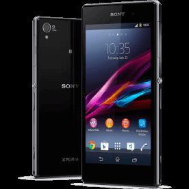 """Smartphone Sony Xperia Z1 Preto - 16GB - 4G LTE - RAM 2GB - Tela 5"""" - 20.7MP - Quad Core - Android 4.2"""