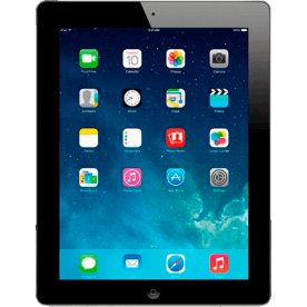"iPad 4 16GB Preto Apple - Wi-Fi - iOS 7 - Tela de 9.7"" - Tela de Retina"