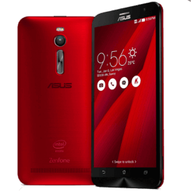"Smartphone ZenFone 2 Asus ZE551ML-6C542WW - RAM 4GB - Intel Atom Quad Core - 16GB - 4G - Tela 5.5"" - Android 5 - Vermelho"