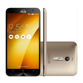 "Smartphone Asus Zenfone 2 ZE551Ml-6G706WW Dourado - Intel Z3560 Quad Core - 16GB - 4G LTE - RAM 4GB - Tela 5.5"" - Android 5.0"