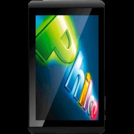 """Tablet Philco 7ISDBT7A1-P111A4.0 na cor Preta com processador ARM Cortex A8 de 1,00GHz de velocidade, câmera traseira de 2MP, conexão Wi-Fi, tela capacitiva TFT de 7"""" e sistema operacional Android..."""