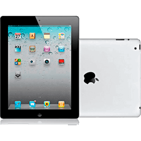 "iPad 2 64GB Preto Apple - iOS 4 - Wi-Fi - Tela Widescreen de 9.7"" - Bluetooth"