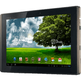 "Tablet Asus TF101-1B199A - NVIDIA Tegra 2 Dual Core - 16GB - LED 10.1"" - Wi-Fi - Android 3.0"