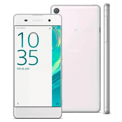 "Smartphone Sony Xperia XA F3116 4G Branco - Dual-Chip - 16GB - 5""LCD - Android 6.0"