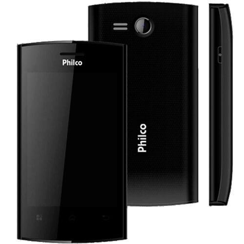 """Smartphone Philco Phone 350 Preto - Dual Chip - GPS - Tela de 3.5"""" - 3MP - Android 4.0"""