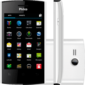 "Smartphone Philco Phone 350 Branco - Dual Chip - GPS - 3MP - Tela de 3.5"" - Android 4.0"