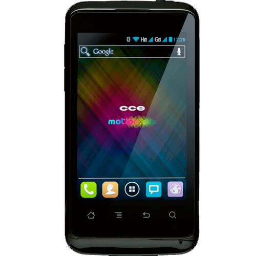 "Smartphone CCE Motion Plus SK351 - Dual Chip - 3G - Wi-Fi - Tela de 3.5"" - QualComm Snapdragon - 2MP - Android 4.0 - Branco"