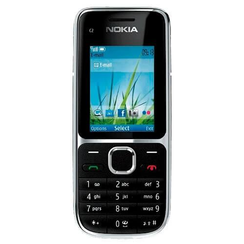 """Smartphone Nokia C2-01 Preto - 3MP - Bluetooth - Desbloqueado - Tela 2"""""""