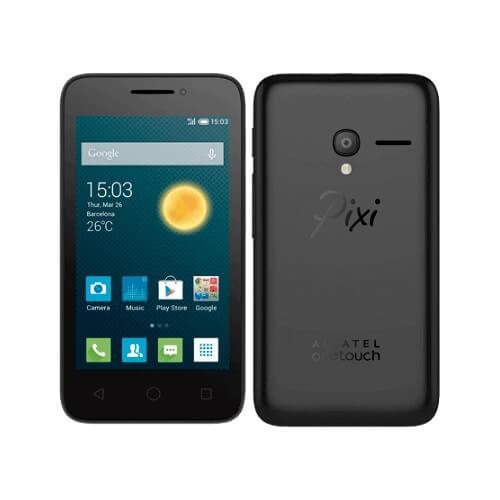 "Smartphone Alcatel PIXI3 OT-4013J Preto - 4GB - Dual-Chip - Bluetooth - Tela LCD 4"""
