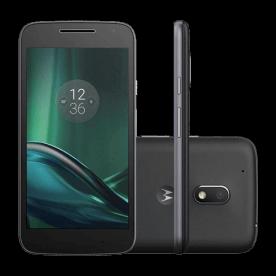 """Smartphone Motorola Moto G XT1603 - 4° Geração - Preto - 16GB - 8MP - Tela 5"""" - Android 6.0"""
