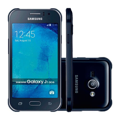 Smartphone Galaxy J1 J110M - Azul - 8GB - 5MP - 4G - Tela 4.3 - Android 4.4