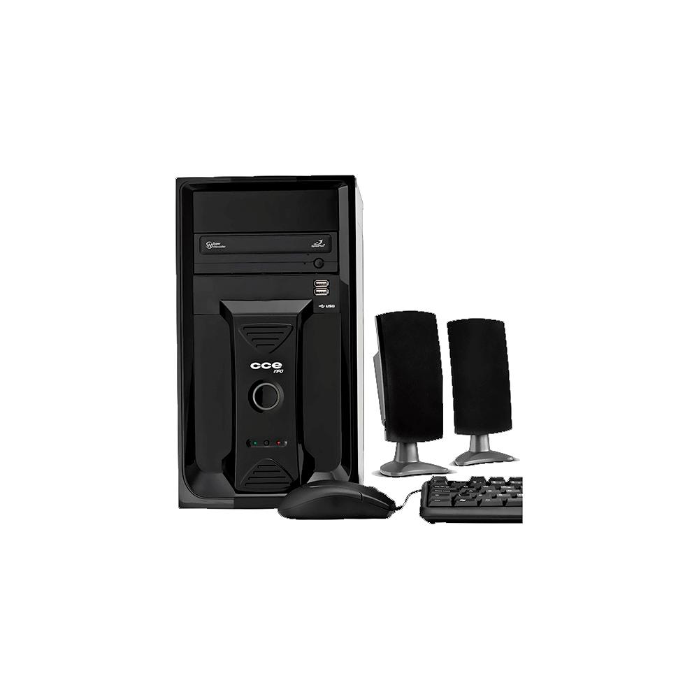 Computador Desktop CCE CD250L - Intel Celeron Dual Core E3400 - RAM 2GB - HD 500GB - Gravador de DVD - Linux