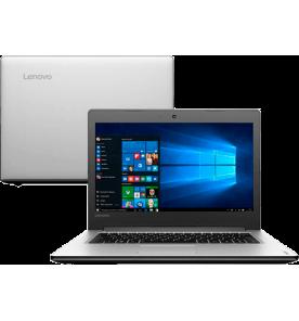 "Notebook Lenovo IdeaPad 310-14ISK-80UG0002BR - Intel Core i5-6200U - RAM 4GB - HD 1TB - Tela 14"" - Windows 10"