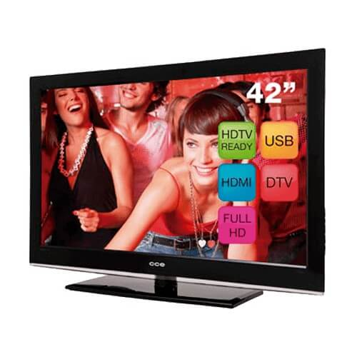 "TV 42"" CCE LCD Stile D4201 - Full HD - Conversor Digital - Entrada HDMI - USB"
