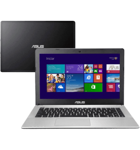 "Notebook Asus X450CA-BRAL-WX143H - Intel Core i3-2365M - HD 500GB - RAM 4GB - LED 14"" - Windows 8"