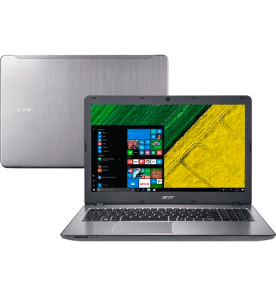 "Notebook Acer F5-573G-519X - Prata - Intel Core i5-7200U - GeForce 940MX - RAM 8GB - HD 2TB - Tela 15.6"" - Windows 10"