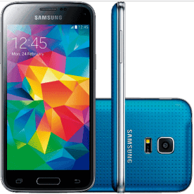 "Smartphone Samsung Galaxy S5 Azul - 4G LTE - 16GB - Quad-Core - Tela 5.1"" - 16MP - Android 4.4"