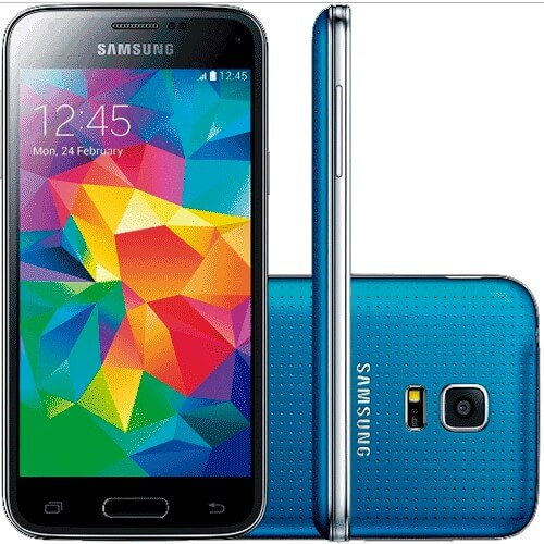 "Smartphone Samsung Galaxy S5 Azul - 4G LTE - 16GB - Quad-Core - Tela 5.1"" - 16MP - Android 4.4"