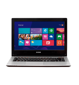 "Notebook CCE Ultra Thin HT345 - Intel Core i3-3217U - HD 500GB - RAM 4GB - LED 14"" Touchscreen - Windows 8"