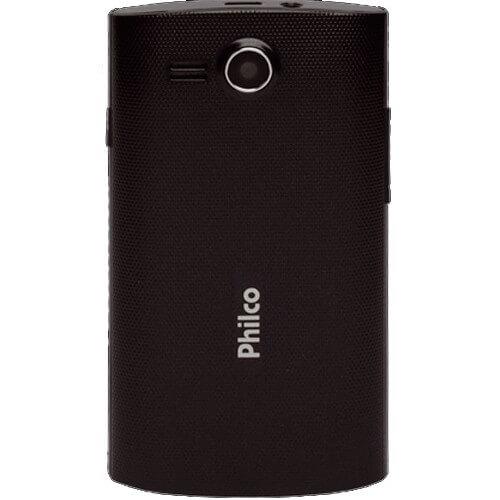 """Smartphone Philco Phone 350B- 3G - Dual Chip - GPS - Tela de 3.5"""" - 3MP - Android 4.0 - Preto"""