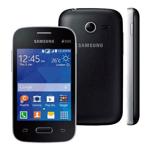 "Smartphone Samsung Galaxy Pocket 2 SM-G110M - Preto - 4GB - 3G - 2 MP - Tela 3.3"" - Android 4.4"