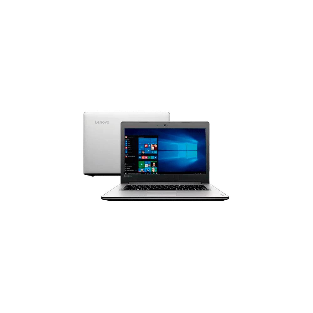 "Notebook Lenovo G40-70 80GA000BBR - Prata - Intel Core i5-4200U - RAM 4GB - HD 1TB - Tela 14"" - Windows 8"