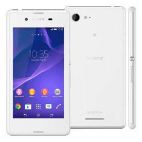 "Sony Xperia E3 D2243 - Branco - 4GB - 5MP - Tela 4.5"" - Android 4.4"