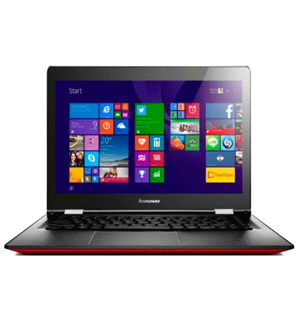 "Notebook 2 em 1 Lenovo Yoga 500 14IBD-80NE000ABR - Intel Core i5-5200U - RAM 4GB - HD 1TB - Tela 14"" - Windows 10 - Vermelho"