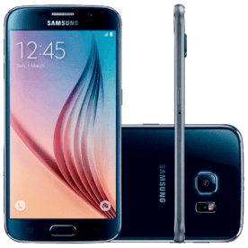 "Smartphone Samsung Galaxy S6 Azul - 32GB - 4G LTE - Octa Core - Câmera 16MP - Super AMOLED 5.1"" - Android 5 Lollipop"