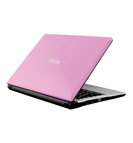 """Notebook Philco Rosa 14I-R723W8SL - AMD (Brazos) - RAM 2GB - HD 320GB - Tela 14"""" - Windows 8"""