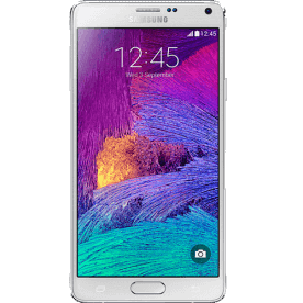 Smartphone Samsung Note 4 N910 Branco - 4G - 32GB - RAM 3GB - 16MP - Android 4.4 - Quad-Core - Tela 5.7""