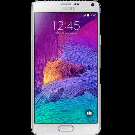"Smartphone Samsung Note 4 N910 Branco - 4G - 32GB - RAM 3GB - 16MP - Android 4.4 - Quad-Core - Tela 5.7"""