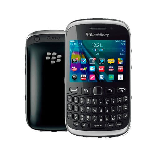 "Celular BlackBerry RIM Curve 9320 - Bluetooth - 3MP - Tela 2.4"" - BlackBerry OS 7.1 - Preto"