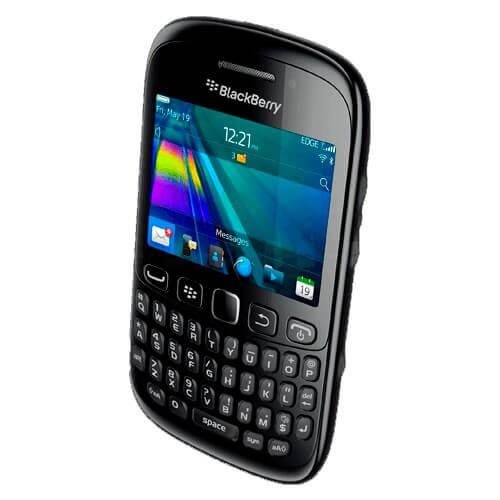 """Celular BlackBerry RIM Curve 9320 - Bluetooth - 3MP - Tela 2.4"""" - BlackBerry OS 7.1 - Preto"""