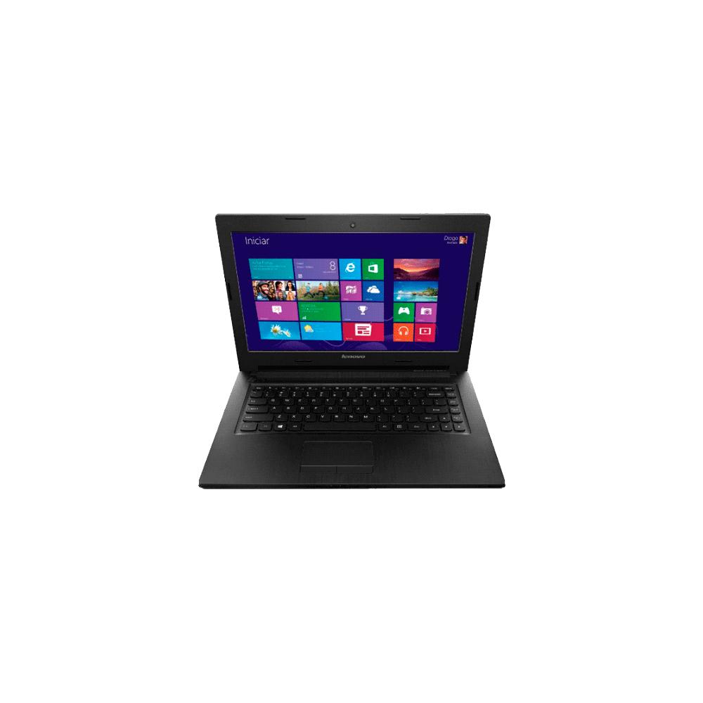 "Notebook Lenovo G50-80-80R00006BR Prata - Intel Core i3-5005U - RAM 4GB - HD 1TB - Tela 15"" - Windows 10"