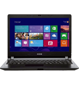 "Notebook CCE X325 - Intel Core i3-2328M - HD 500GB - RAM 2GB - LED 14"" - Windows 8"