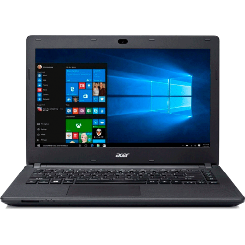 "Notebook Acer ES1-431-P0V7 - Intel Pentium Quad Core - RAM 4GB - HD 500GB - Tela 14"" - Windows 10 - Preto"