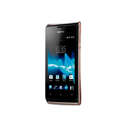 """Smartphone Sony Xperia E Preto - 4GB - 3MP - Tela 3.5"""" - Android 4.1"""