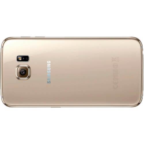 "Smartphone Samsung Galaxy S6 Dourado - 32GB - 4G LTE - Octa Core - Câmera 16MP - Super AMOLED 5.1"" - Android 5 Lollipop"