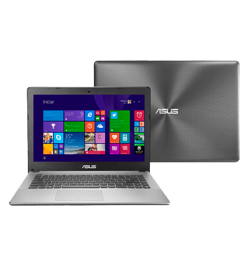 """Notebook Asus X450LA-BRA-WX084H - Intel Core i5-4200U - RAM 4GB - HD 500GB - LED 14"""" - Windows 8.1"""