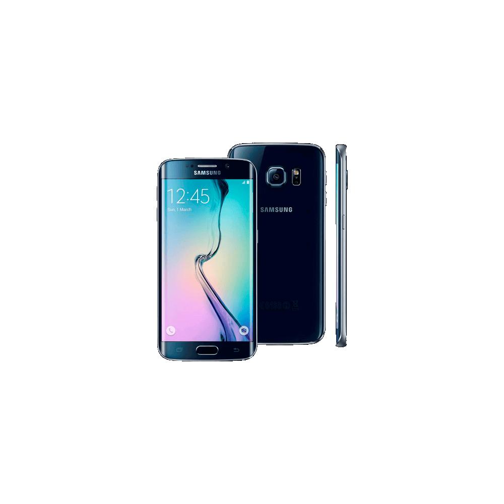 "Smartphone Samsung Galaxy S6 Edge G925 Azul - 64GB - 4G LTE - Octa Core - 16MP - Tela 5.1"" - Android 5.0"