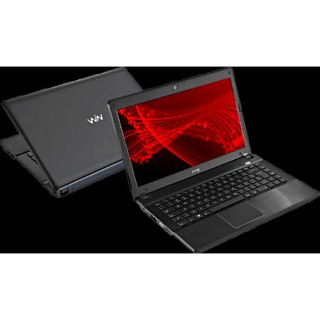 "Notebook CCE I45L - Intel Dual Core 847 - RAM 4GB - HD 500GB - Linux - Tela 14"" - Preto"