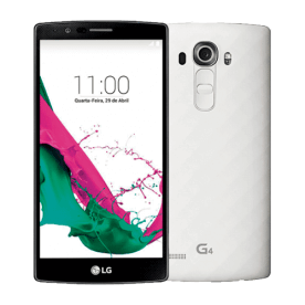 "LG Smartphone H815- 32GB - Tela 5.5""- G4 - Camêra 16MP- Branco"
