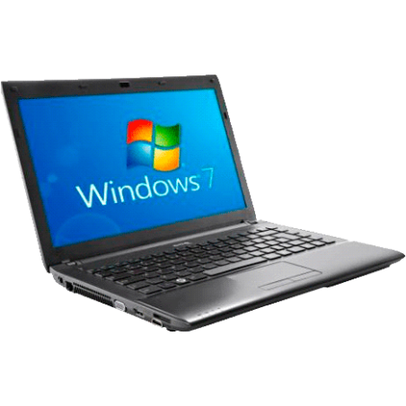 "Notebook CCE Iron 345b - Intel Core I3-2310m - RAM 4GB - HD 500GB - Tela 14"" - Windows 7 Home Basic"