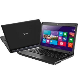"Notebook CCE X345 - Intel Core i3-2310M - RAM 4GB - HD 500GB - Tela 14"" - Windows 8 Single language - Preto"