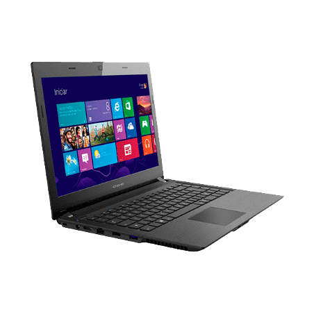 """Notebook CCE F40-30-4030CCE002 - Intel Celeron N2830 - RAM 4GB - HD 500GB - LED 14"""" - Windows 8.1"""