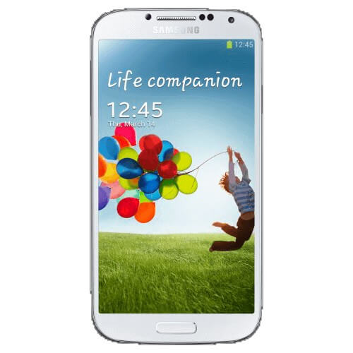 "Smartphone Samsung Galaxy S4 4G I9505 Branco -16GB - 13MP - Tela 5"" - Android 4.4"